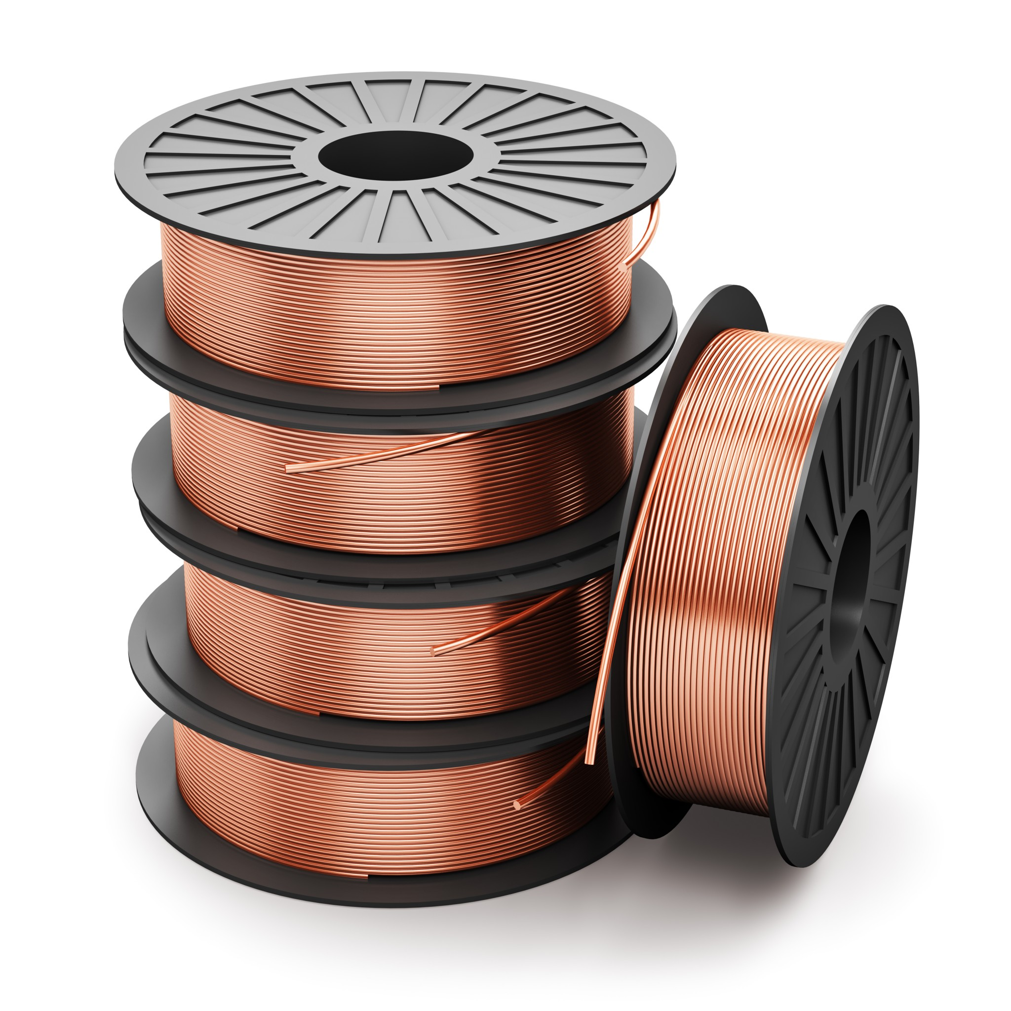 Coils of copper wires - Monarch Metals, Inc.